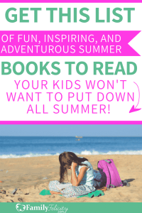 It's summer time and there's more time to read amazing books. Get your kids to want to read more with this super fun book list for all ages! #reading #books #bookstagram #bookshelf