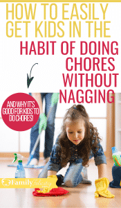 Struggling to get the kids to do chores? These simple chores for kids by age will help you easily get started!  #kidsandparenting  #parenting #organizing