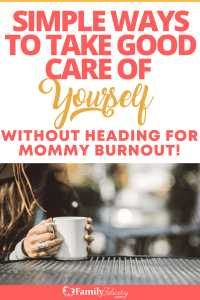 Moms are tough and are guilty of putting themselves last! Learn why your family really wants you to put yourself first! #momlife #motherhood #parenting