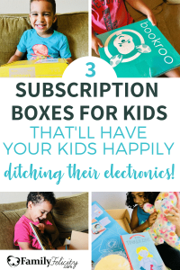 Tired of your kids having too much screen time? Try these 3 subscription activity boxes for kids! My kids love them and yours will too! #kidsandparenting #parenting #activities #kidscrafts