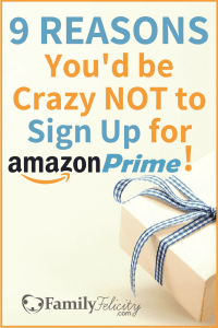 9 Reasons You'd be Crazy NOT to Sign Up for Amazon Prime Pin