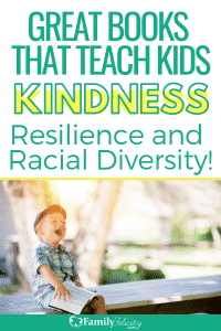 This book list is full of books for all ages that teach kindness and how to overcome challenges with grace! #kidsandparenting #books #reading #parentingtips