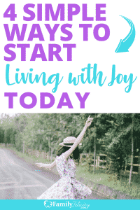 Living with joy requires the right mindset in the face of disappointments and challenging seasons. These 4 mindsets will have you living with more joy right now! #joy #personaldevelopment #selfimprovement #faith