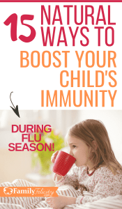 Flu season is here and there are natural and super effective ways to protect your child from getting sick. These natural remedies work to boost immunity naturally using essential oils! #essentialoils