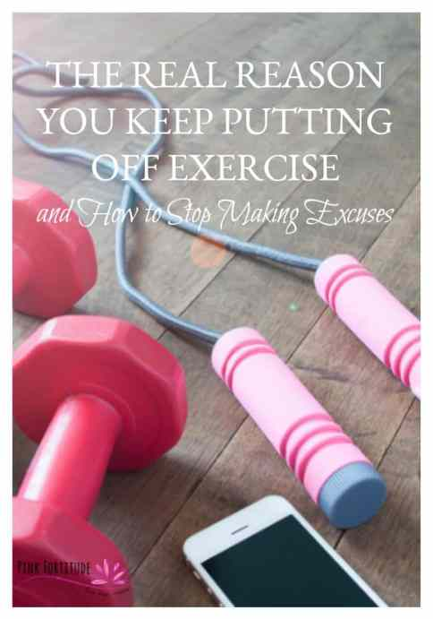 How to stop making excuses not to exercise