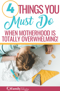 Motherhood is hard and can be totally overwhelming. These tips will help you find the joy in the difficult seasons of motherhood. #kidsandparenting #parenting #motherhood #momadvice #Mom