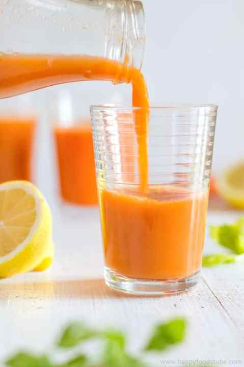 Immune boosting winter juice