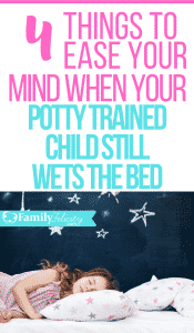 Bedwetting for long periods of time can be frustrating for that child and you! Here are some much needed tips to ease your mind and the workload of cleaning up accidents. #bedwetting #kidsandparenting #parentingtips