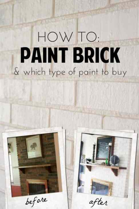 DIY painted fireplace