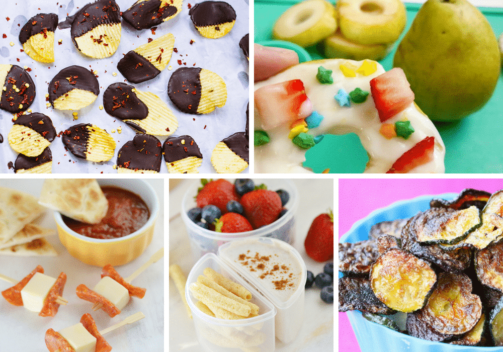 The Perfect after school snack recipes your kids will love!