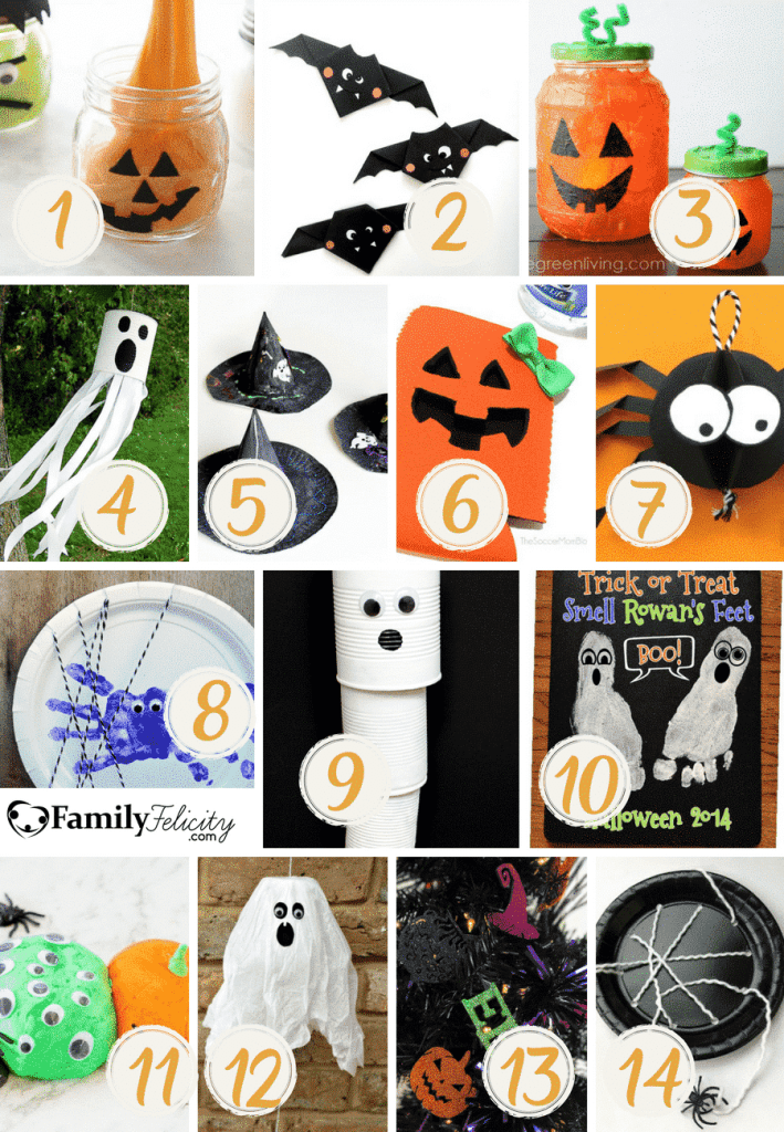 Halloween Inspired crafts for kids