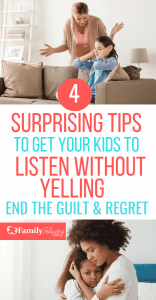 Getting kids to listen can be a challenge. Try these simple tips to get your kids to listen without yelling. #kidsandparenting #parenting101 #parentingtips #momlife #kids