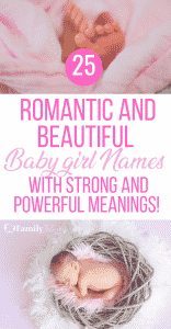 These beautiful and sweet baby girl names are complete with powerful and strong meanings! #kidsandparenting #babynames #babies #parenting #parentingtips