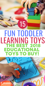 Not all toddler toys are created equal. These are the best toddler learning toys to buy in 2018. #funtoys #kidsandparenting #parenting #parentingtips #parentingtips #christmas #gifts