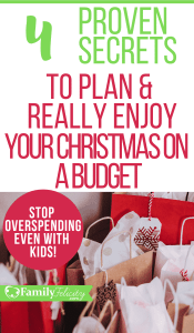 Get the best tips for having a Christmas on a budget for kids that everyone really enjoys! #kidsandparenting #parenting #parentingtips #christmas