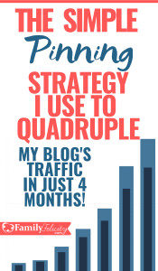 I went from almost no traffic to almost 100K blog visitors in just 4 months with this Pinterest Pinning Strategy. Learn the Pinterest Marketing Strategies I used that finally allowed me to make money blogging! #blogging #blogger #pinterestmarketing