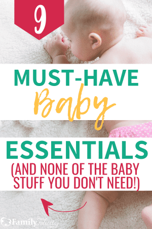 All new moms need baby stuff but there are also things we don't need. This list is a complete list of baby essentials and nothing you don't need! This list is perfect for the minimalist mom. #pregnancy #babies #baby #babystuff