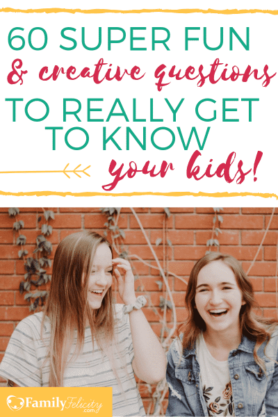 Connecting with your kids is one of the best things you can do as a parent! These fun and even silly questions will get your kids talking, sharing and having fun with you! #kidsandparenting #parenting #kids #motherhood