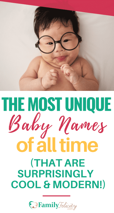This list of adorable baby names are literally the most unique baby names of all time! But this is my favorite list of baby names because they are actually really cool and modern and you haven't heard these names a million times! #babynames #pregnancy #babies