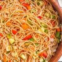 Classic spaghetti salad