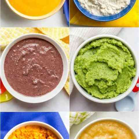 Homemade Baby Food Combinations Family Food On The Table