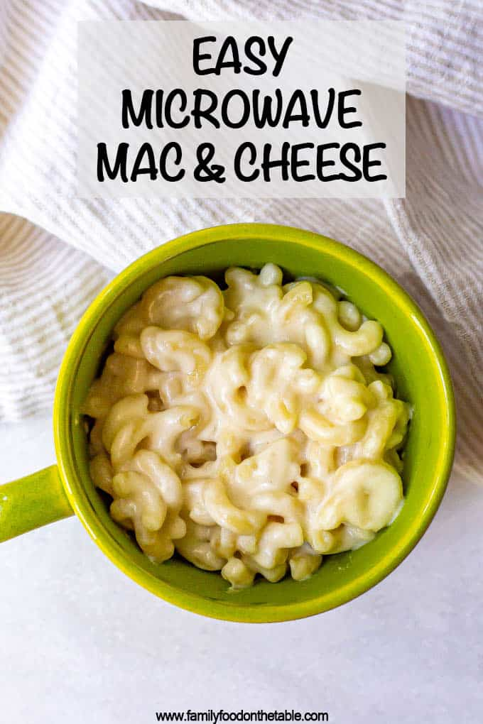 microwave mac and cheese video