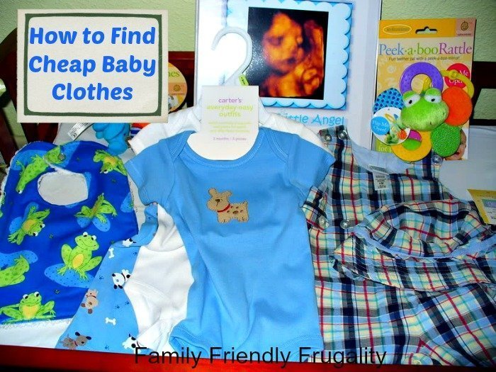 How to Find Cheap Baby Clothes