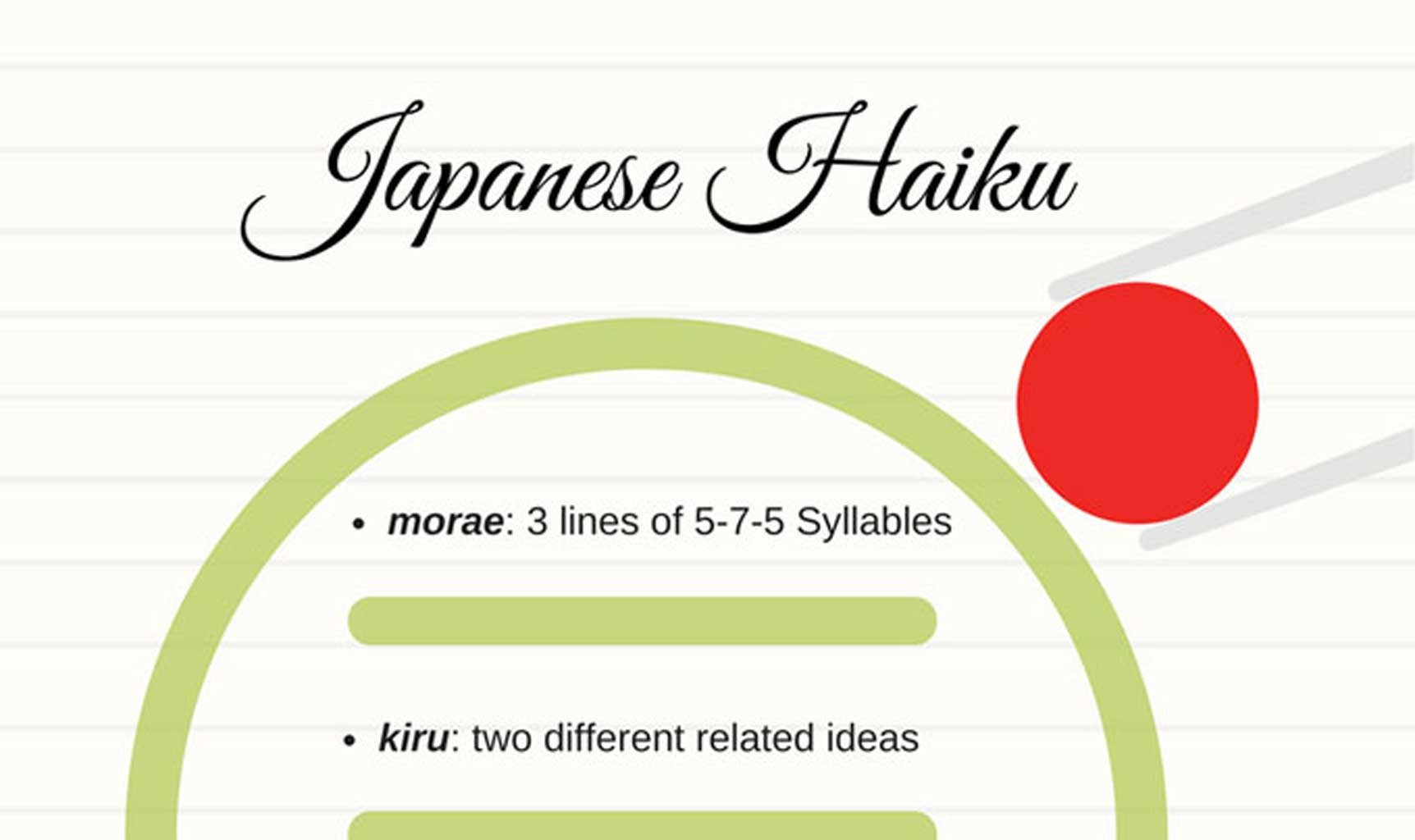 Japanese Haiku Poems Examples