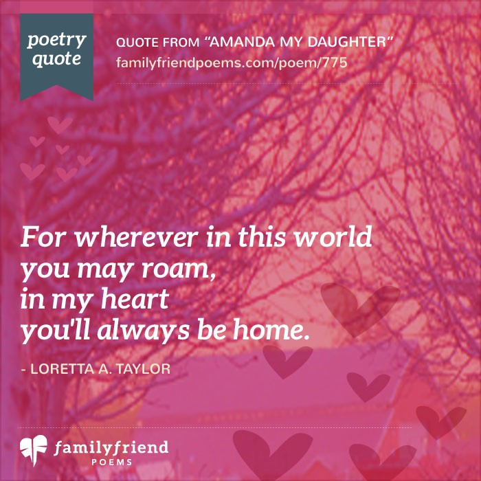 55 Daughter Poems Loving Mother And Father Poems For Daughters