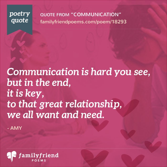 Love Poems About Relationships