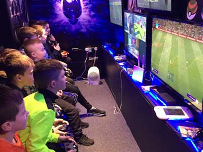 Gaming Party Van For Kids Birthday Parties Ideas Dublin  Gaming Party Van For Kids Birthday Parties