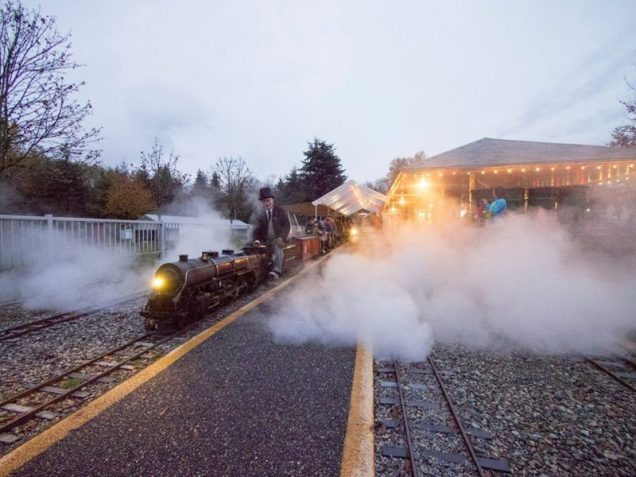 Halloween at Burnaby Central Railway