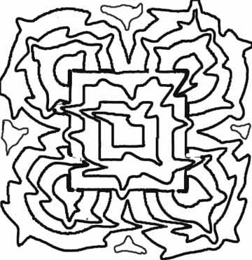 abstract coloring pages for you to create great art