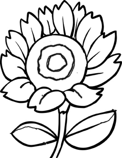 of flowers to color http www familyfuncartoons com flower coloring
