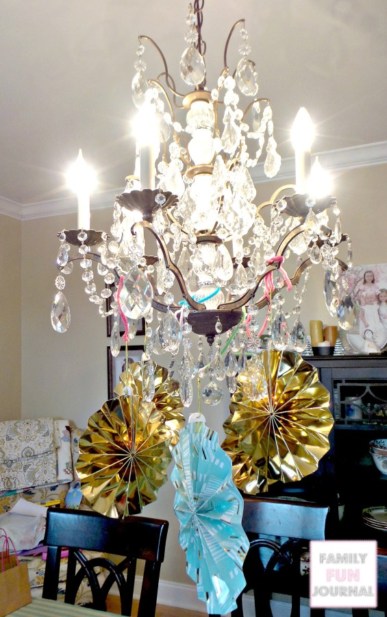 Princess Party Chandelier