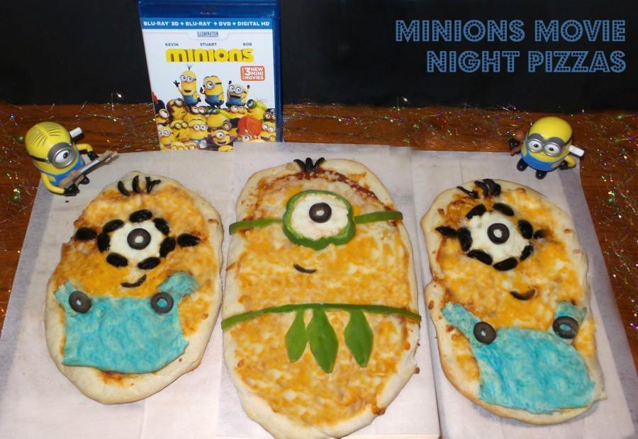 Minions Movie Pizza Night Family Fun Journal