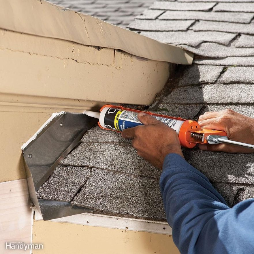 Don't Count on Caulk!  12 Roof Repair Tips: Find and Fix a Leaking Roof FH08DJA 484 06 017