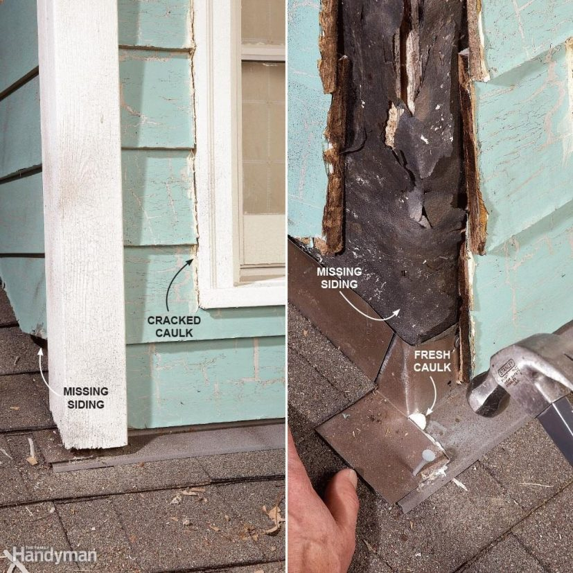 Fix Walls and Dormers  12 Roof Repair Tips: Find and Fix a Leaking Roof FH09JAU FIXROO 08 09