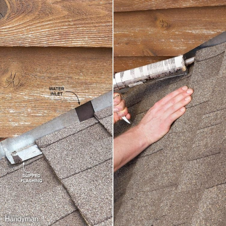 Fix Step Flashing  12 Roof Repair Tips: Find and Fix a Leaking Roof FH09JAU FIXROO 10 11