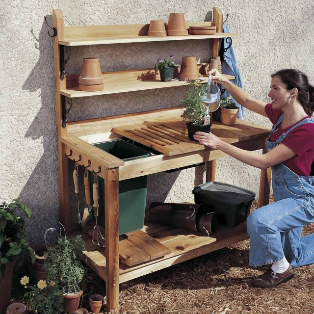 15 awesome plans for diy patio furniture | the family handyman