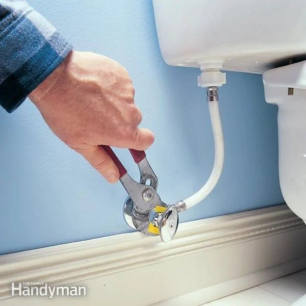 how to fix a leaking shutoff valve diy