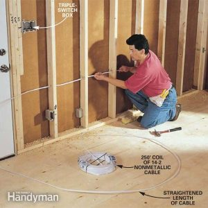 How to RoughIn Electrical Wiring | The Family Handyman