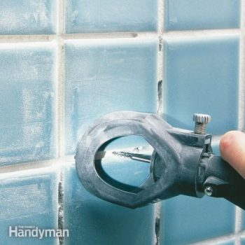how to regrout bathroom tile fixing