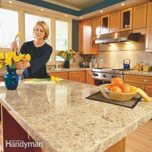 How To Install Granite Tile Countertops