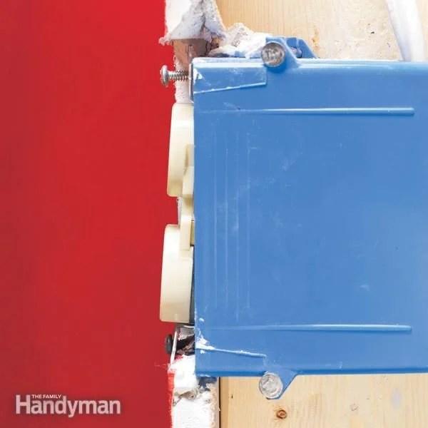 Tighten A Loose Outlet The Family Handyman