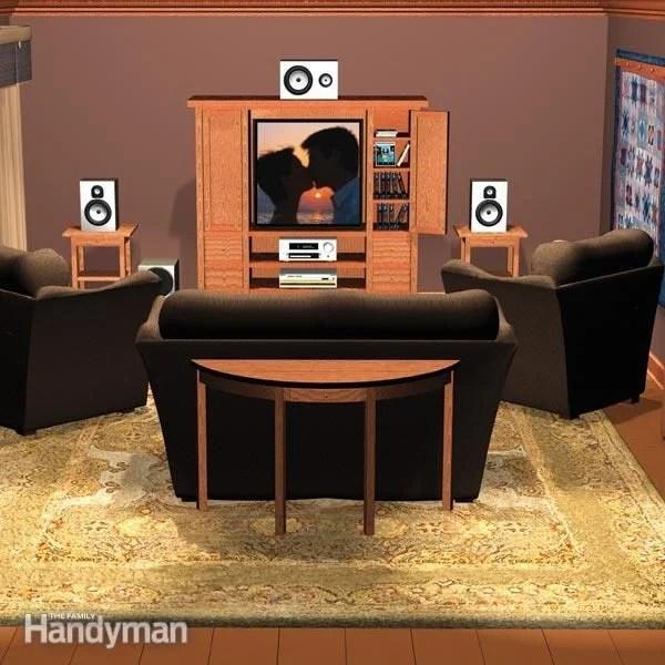 Home Theater Setup The Family Handyman