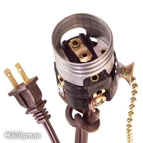 how to wire a light socket diy  family handyman