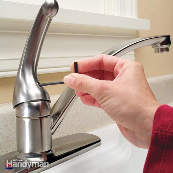 single handle kitchen faucet diy