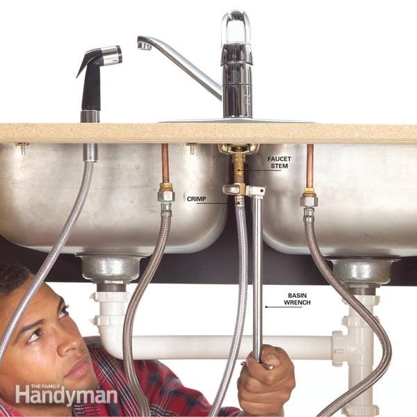 how to fix a leaking sink sprayer diy