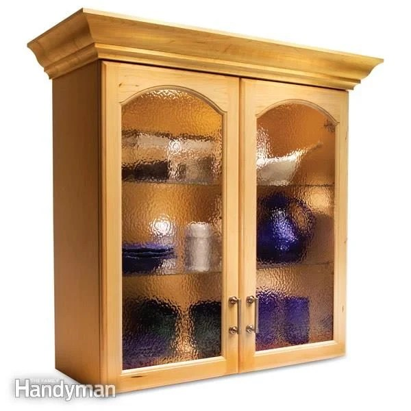 Convert Wood Cabinet Doors To Glass Family Handyman